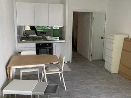 Erstbezug nach Sanierung: stilvolle 1-Zimmer-Wohnung mit EBK und Balkon in Heidelberg