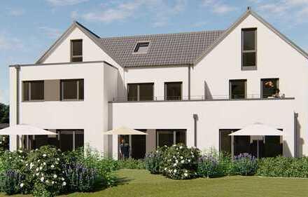 Eine wundervolle Eigentumswohnung (als Reihenmittelhaus) mit Garten und Balkon