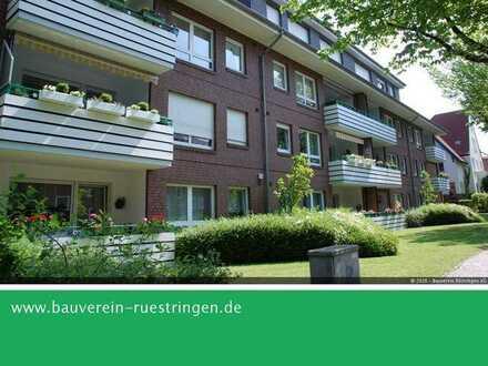 Großzügige Zwei-Zimmer-Wohnung in einem seniorengerechten Objekt in der Gartenstadt Siebethsburg!