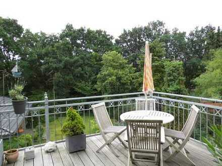 Exklusive 3-Zimmer Wohnung mit Dachterrasse und Aufzug Nähe Flötenteich