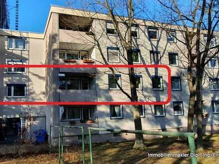 5-Zimmer Wohnung mit Balkon, Garage und TG Stellplatz in Langwasser