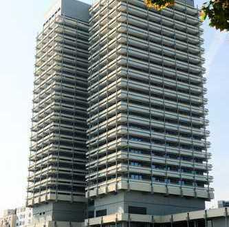 Maisonette Wohnung in Ludwigshafen Hemshof Center über den Dächer