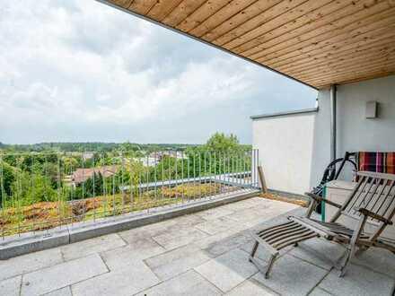 +++Preisreduzierung!!! Attraktive Doppelhaushälfte mit Ausblick in die Rheinebene und die Vogesen+++