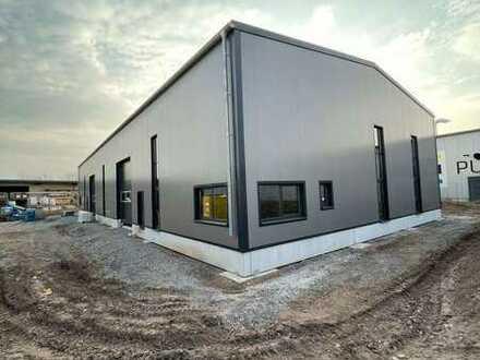 """""""Neubau"""" einer Halle und eines Bürogebäudes in attraktiver Lage"""