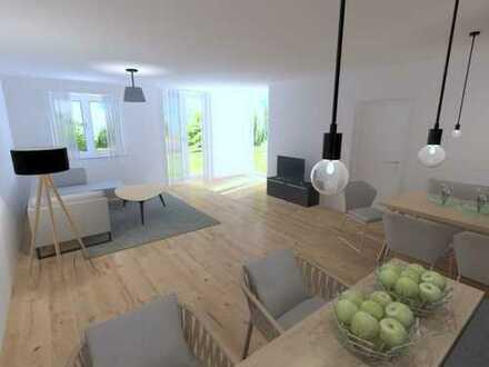* Ab Sommer 2020 modern Wohnen * Große Neubau 3-Zi.Wohnung mit EBK und Garten