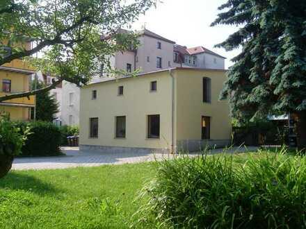 Erstbezug! Ihr neues Büro, Atelier oder kleine Praxis mit 2 Räumen im ruhigen Gartenhaus