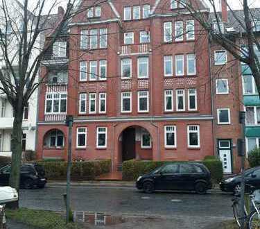 Gepflegte 3-Zimmer-Wohnung mit EBK u. Kaminofen in Kiel, am Schreevenpark