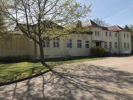 Herrenhaus eines alten Rittergutes mit rd. 16 Td m² Grundstücksfläche