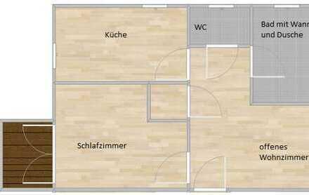 2-Zimmer Wohnung in Bamberg!