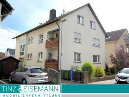 Großzügige 4,5 ZKB DG-Wohnung mit Garage und Gartennutzung in Eggenstein-Leopoldshafen