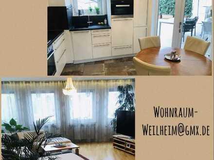 Moderne und großzügige 2,5-Zimmer-Wohnung + Dachterrasse in Weilheim