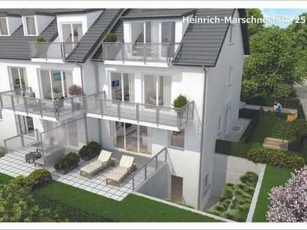 Maisonette-Wohnung: Erdgeschoss und Souterrain: 2 + 1 Zimmer mit eigenem Hauseingang!