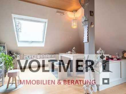 LICHTDURCHFLUTET gemütliche Dachgeschosswohnung zu verkaufen