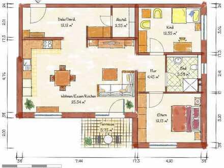 Neubau-3-Zimmer-Wohnung in Schriesheim