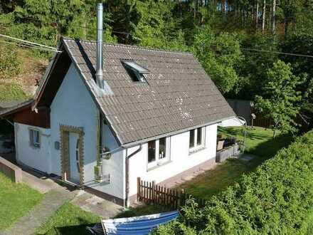 Achtung Pferdefreunde! Kleines, modernisiertes Wohnhaus mit Terrasse und Garage