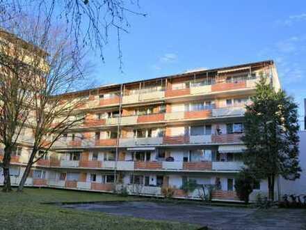Ideal für Kapitalanleger! 1-Zimmer-Wohnung mit großem West-Balkon