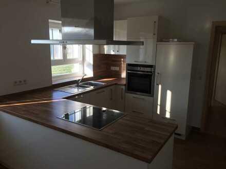 Modernisierte 3,5-Raum-Wohnung mit Einbauküche