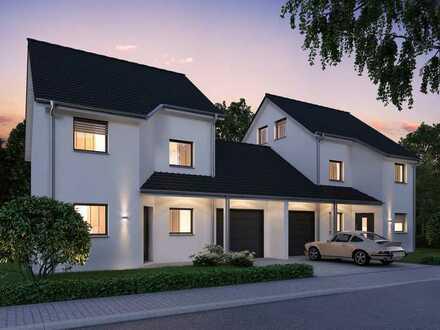 Schöne Doppelhaushälfte inkl. Garage in Lampertheim