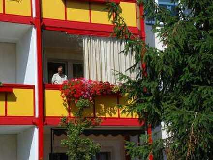 3 Raum - Wohnung mit Balkon im Grünen
