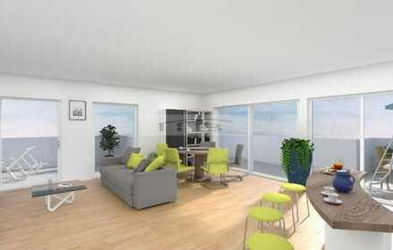 PENTHOUSE in Köln Weiden: 3-Zimmer Wohnung, Dachterrasse, Tiefgaragenstellplatz, bezugsfrei!