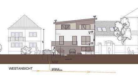 Grundstück inkl. Baugenehmigung für ein 3-Familienhaus