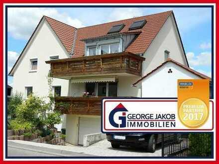 6,5-Zimmer-Mais.-Wohnung mit Balkon und Garten