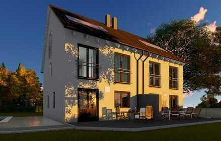 """Unsere Doppelhaushälfte """"Style 122"""" in einer tollen Lage direkt in Friedberg OT Rederzhausen"""