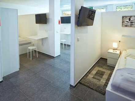 ideal für Monteure: 110 qm Apartment mit 5 Schlafnischen, 5x TV, Wlan, Parkplatz, ab 1 Monat