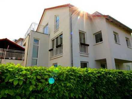 Helle Maisonette-Wohnung mit idyllischen Terrassen