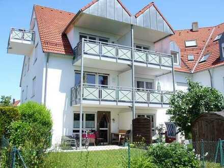 75qm großzügige Einteilung einer 2ZKB Wohnung mit süd Balkon im 1. Stock und Garage