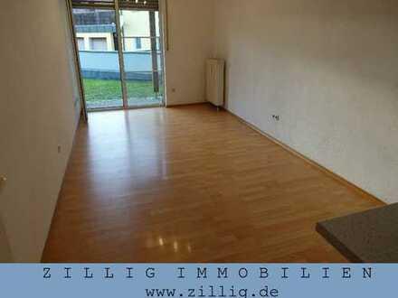 1-Zimmer-Wohnung in Regensburg-Nord - Terrasse, Laminat, TG - ZILLIG MIETVERWALTUNG