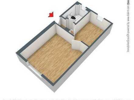 1-Raum-Wohnung in Elbnähe