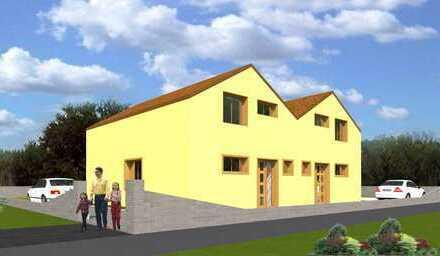 Neubau/ Hinterbebauung Doppelhaushälfte