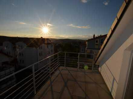 Erstbezug: stilvolle 3-Zimmer-Wohnung mit gehobener Innenausstattung und tollem Ausblick in Grafenau