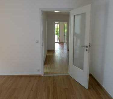 Stilvolle, vollständig renovierte 2-Zimmer-Terrassenwohnung mit EBK in Bad Wörishofen