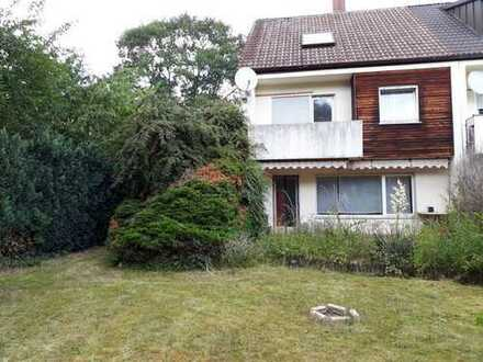 ruhig gelegenes Reiheneckhaus in Fürth mit schönem Garten
