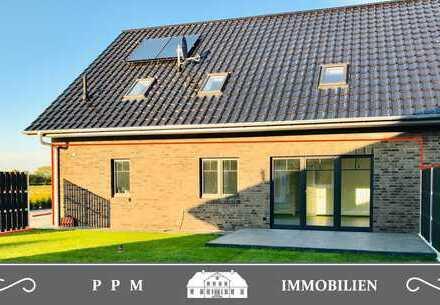 4-Zimmer-Neubauwohnung in qualitätsvollem Doppelhaus Nähe Tarp