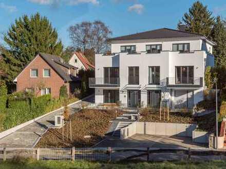 Großzügige und helle Penthouse-Wohnung in Top-Lage von HH-Eißendorf mit opulenter Dachterrasse!