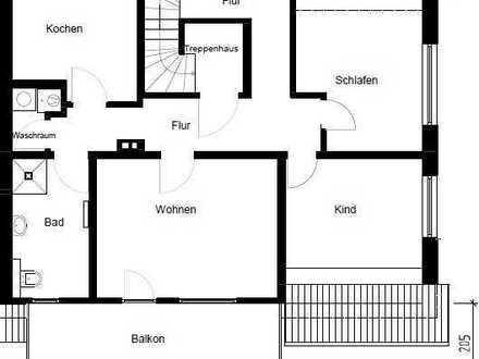 Erstbezug nach Sanierung: schöne 4-Zimmer-Maisonette-Wohnung mit Balkon in Gronau (Westfalen)