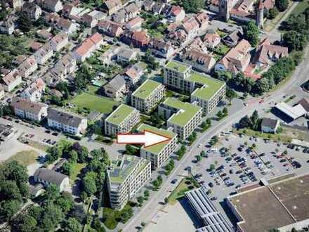 Fairmieten - Zentral in Ladenburg in ruhiger Lage: Neubauwohnung mit 2 Balkonen und Einbauküche
