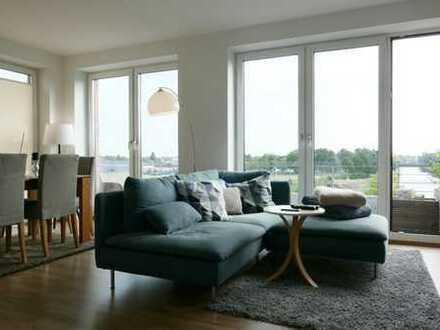Wasserblick - attraktive 2 Zimmer mit Balkon und Einbauküche in den Fleethöfen