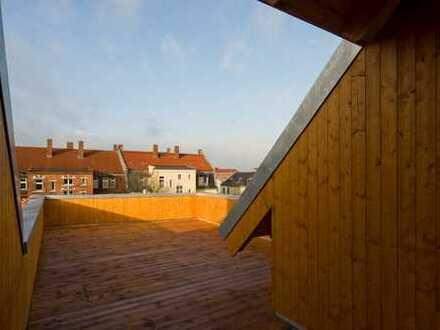 39 qm Dachterrasse über den Dächern Leipzigs