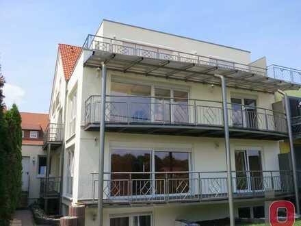 Provisionsfrei - Schöne 4-ZKB-DG-Wohnung mit Penthouse-Charakter und freiem Blick ins Grüne
