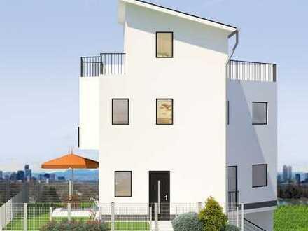 """Einfamilienhaus mit schönem Weitblick auf Mainz NEUBAU """"Marienborner Terrassen"""""""