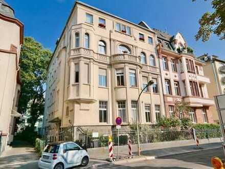 TOP! Schöne 2 Zi- Altbauwohnung mit Balkon im Westend!