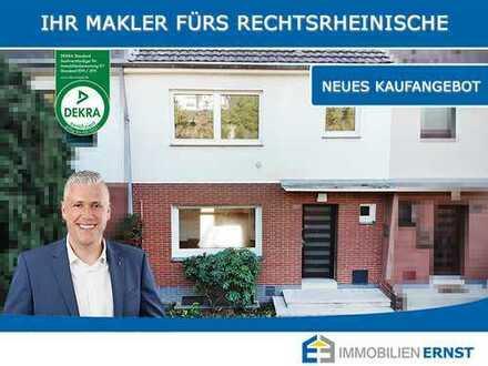 Seltene Gelegenheit! Bezugsfreies Reihenmittelhaus in Köln-Merheim