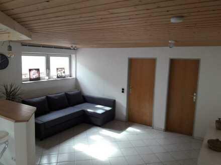 Modernisierte Kellerwohnung mit zwei Zimmern und Einbauküche in Alb-Donau-Kreis