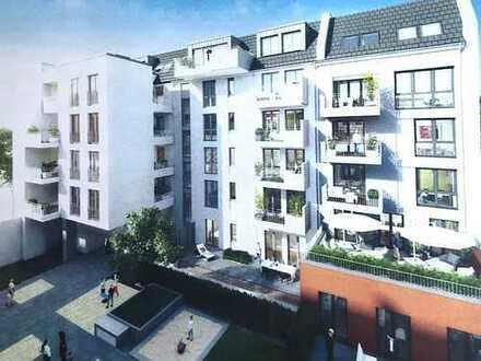 Neubau: 2-Zi.-Stadtwohnung, Top-Lage, Balkon, Garage