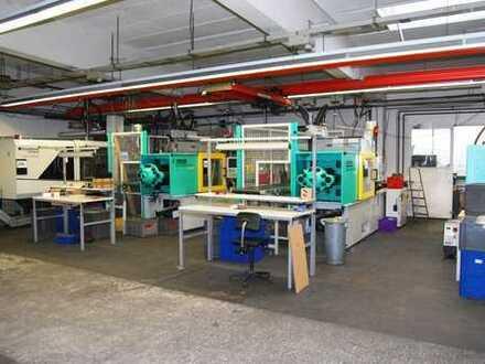 Produktionshalle m. Büro, Sozialräumen und Freiflächen (zusätzl. Büros möglich)!