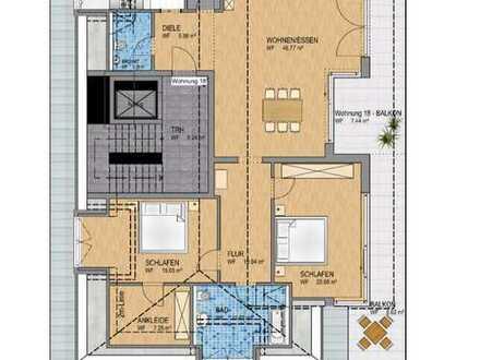 Stilvolle 4-Zi-Neubauwohnung in Zentrumsnähe